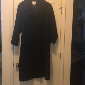 Women's Worthington Trench coat in black size 16